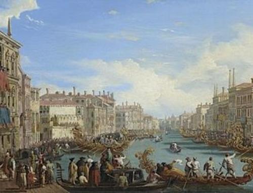 Die Ursprünge der venezianischen Regatta