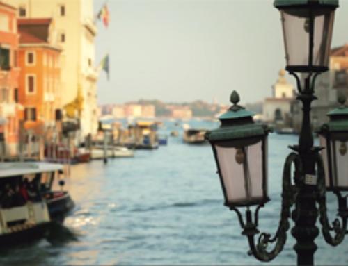 Venedig einen schönen Spaziergang bevor Sie dorthin gehen